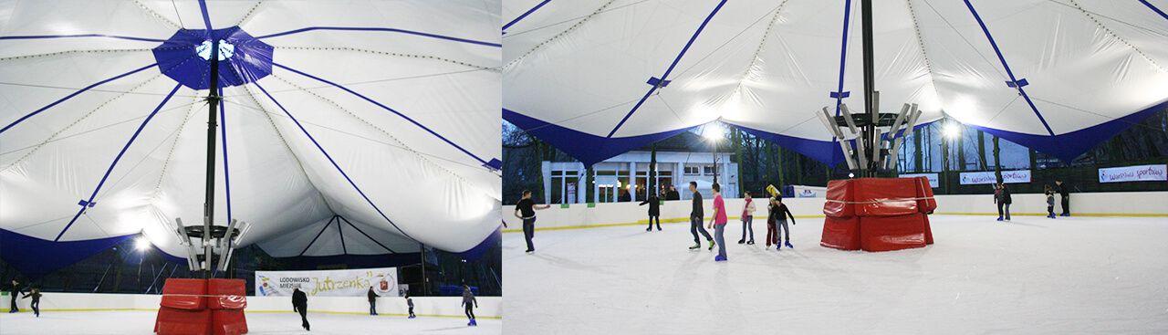 Sport Halls s.c. Hale pod lodowiska