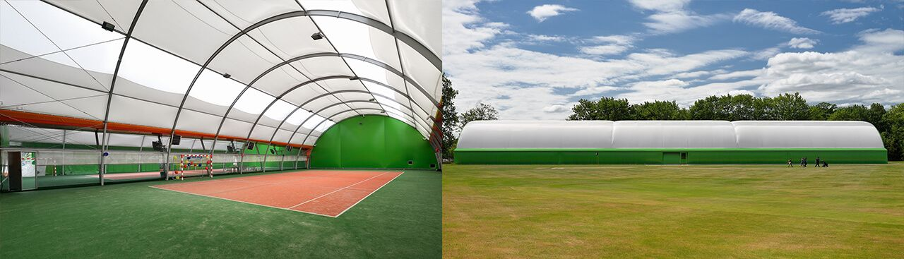 Sport Halls s.c. Hale tenisowe łukowe półbeczki