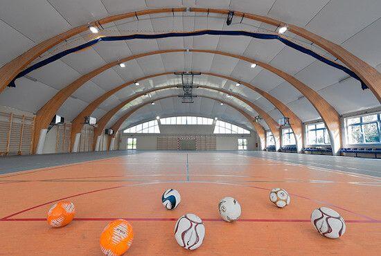 Hale sportowe - Sport Halls