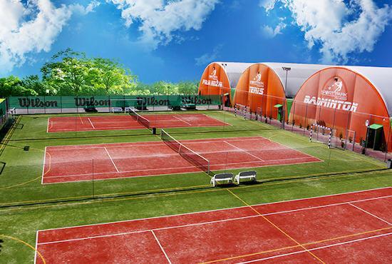 Nawierzchnie sportowe - Sport Halls